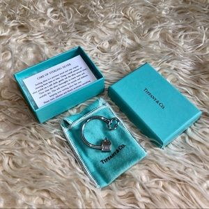 Tiffany & Co. Accessories - Tiffany & Co. sterling silver house key ring